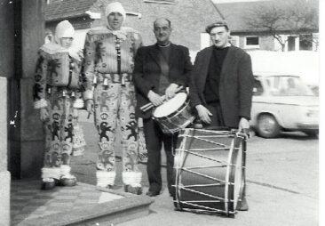 1970 - Yves Depréter, Armand Depréter, André 'El gauchi' et Josse