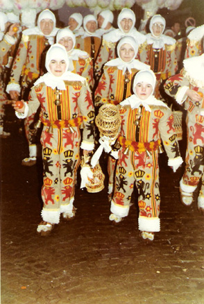 1970 - Lors du cortège
