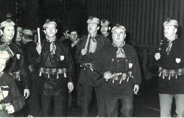 1973 - Soumonce avec les casquettes roses