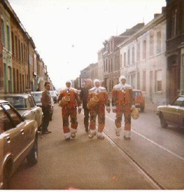 1975 - Gaston Larcin, Jacques Bradelet et Victor Larcin