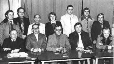 1977 - Réunion du comité