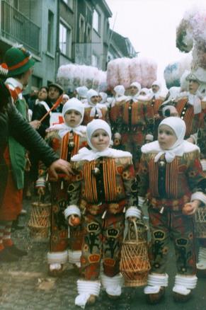 1982 - Lors du cortège