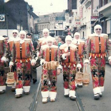 1983 - Dimanche midi, le ramassage de la rue de Belle-Vue