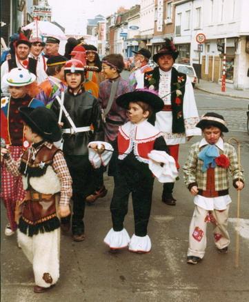 1983 - Mardi, le ramassage de la rue de Belle-Vue