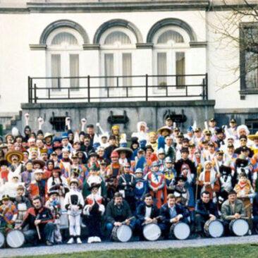 1983 - Mardi, Photo de groupe dans le Parc Gilson