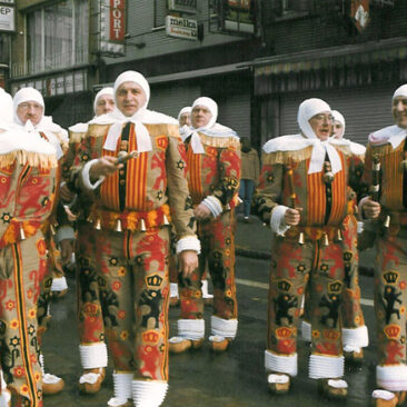 1989 - Dimanche matin  Guy Heulers, Maurice Dupont, Jean-Marie Hautier et Léon Bande