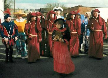 1991 - Mardi, ramassage de la ville d' Houssu