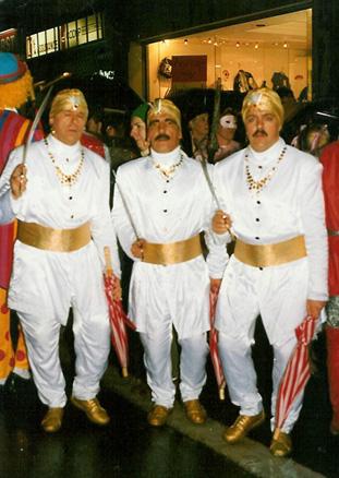 1991 - Mardi, Jules, Jean-Claude et Jean-Luc Piette