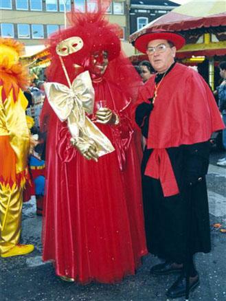 1991 - Mardi, Francis Duquesne et Armand Depréter