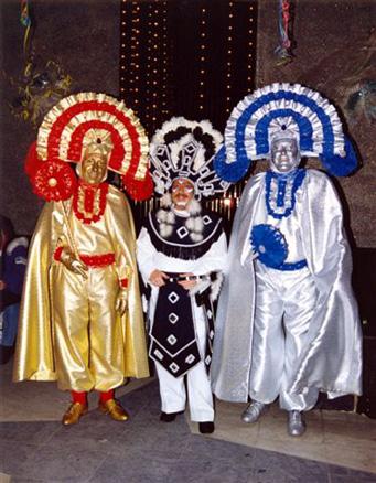 1992 - Mardi, Francis Duquesne, Marcel et René Goret