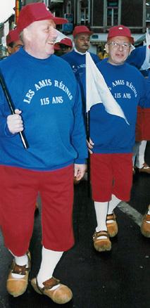 1993 - Jacques Bradelet et Gilbert Drugmand lors de la soumonce générale (115 ans)