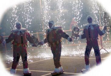 1996 - Lors du feu d'artifice