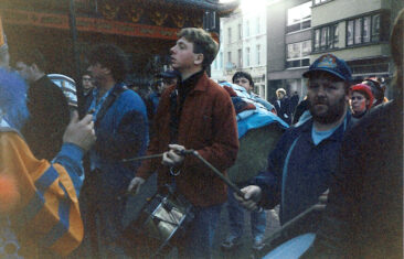 1996 - Mardi, la batterie