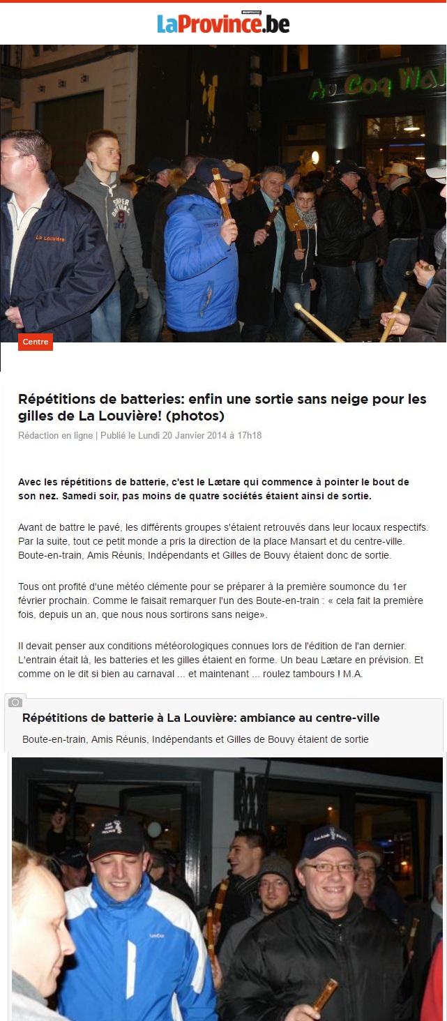 20140120 La Province