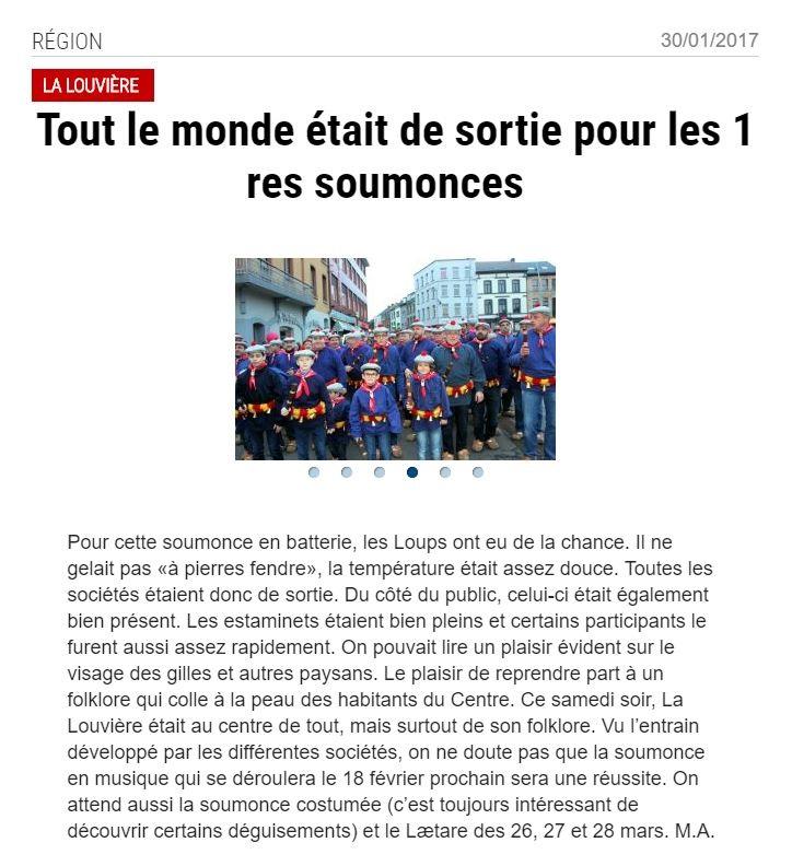 20170130 Nouvelle Gazette