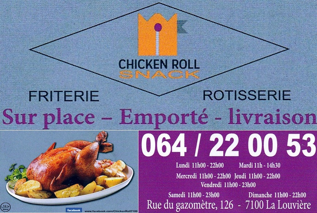 image chicken roll